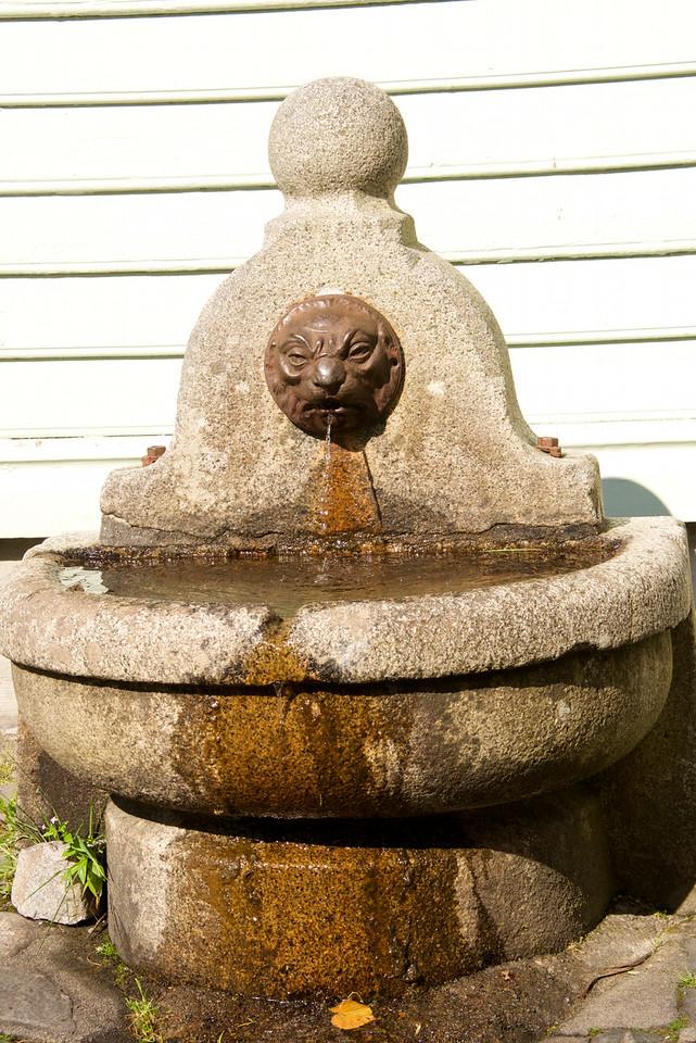 Fountain in the square