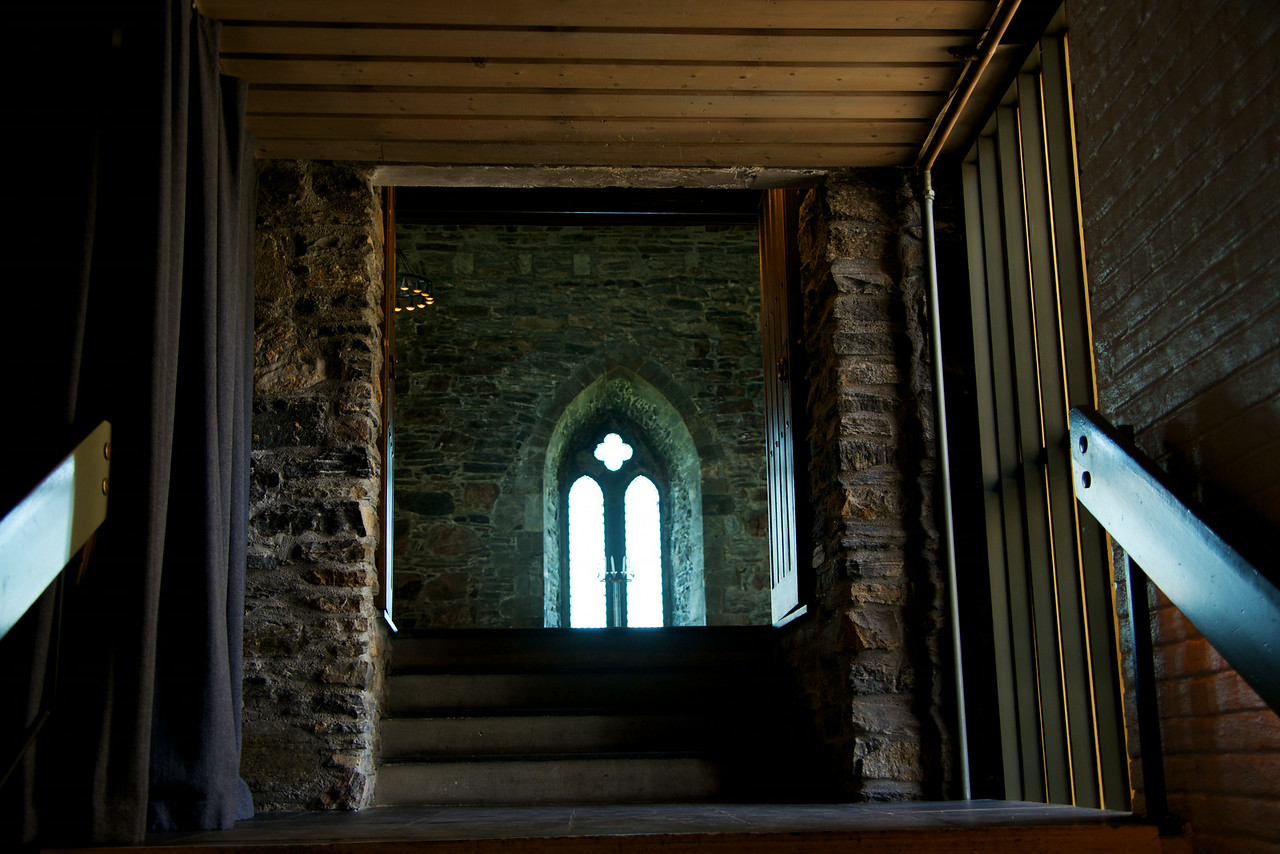 Stair and Doorway into the Festival hall