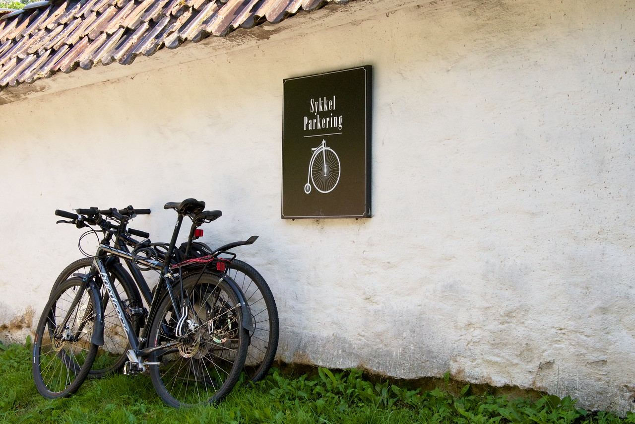There is always a place for bicycles