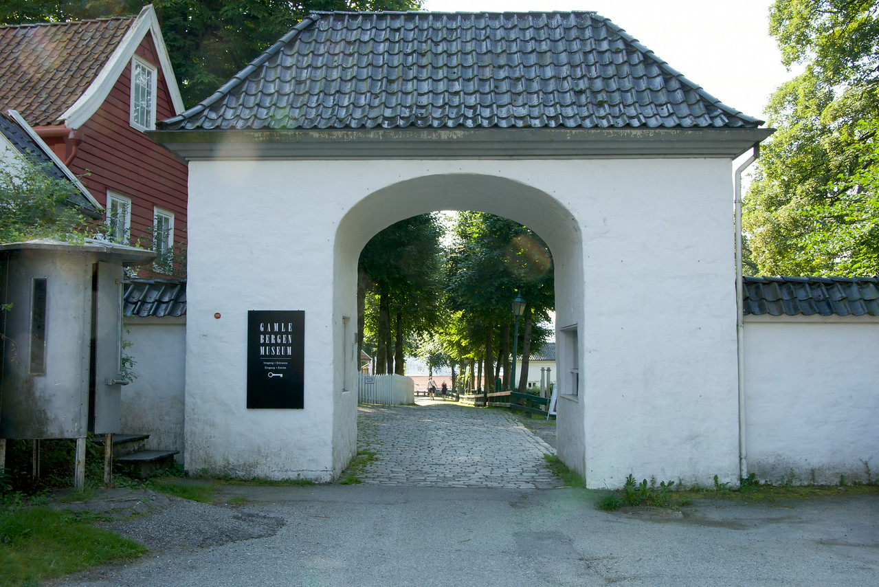 Entrance to Open Air Museum