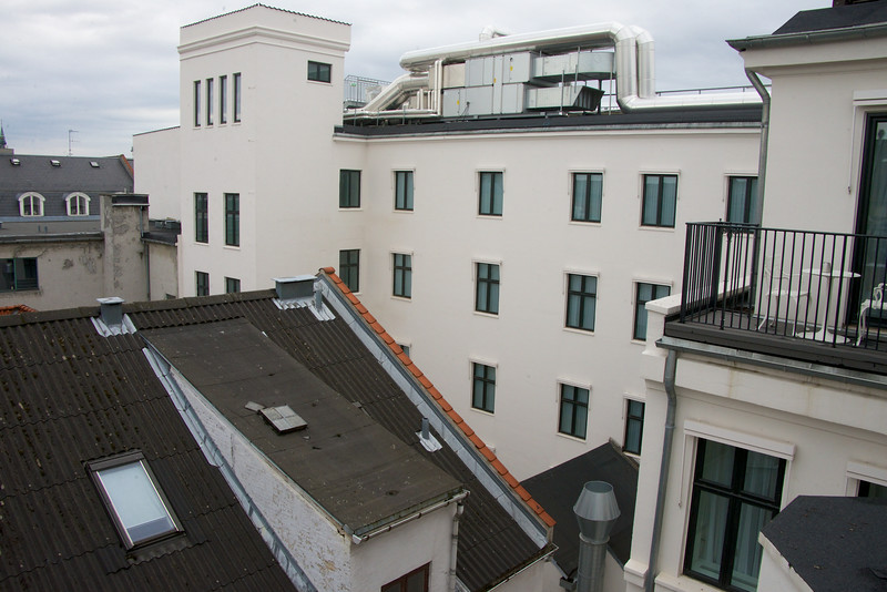 Partial View From D'Angleterre Room