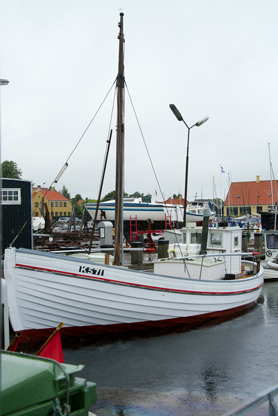 The Elisabeth K571 fishing vessel used to take Jews out of Denmark to safety in Sweden.