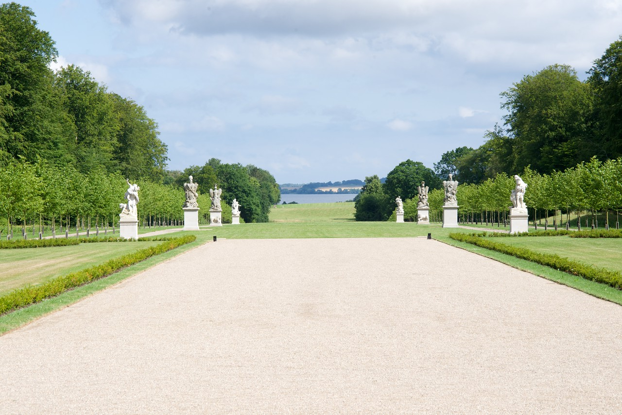View from back of Fredensborg