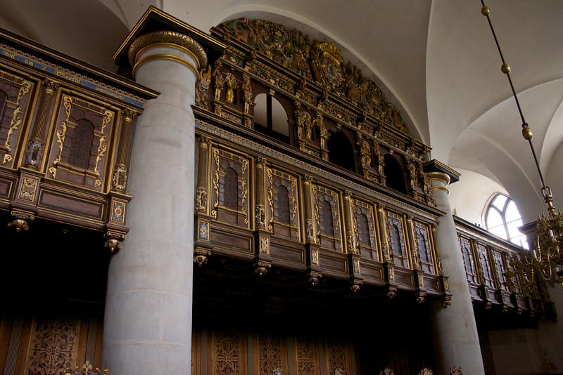 Royal Family Box in Kronborg Chapel