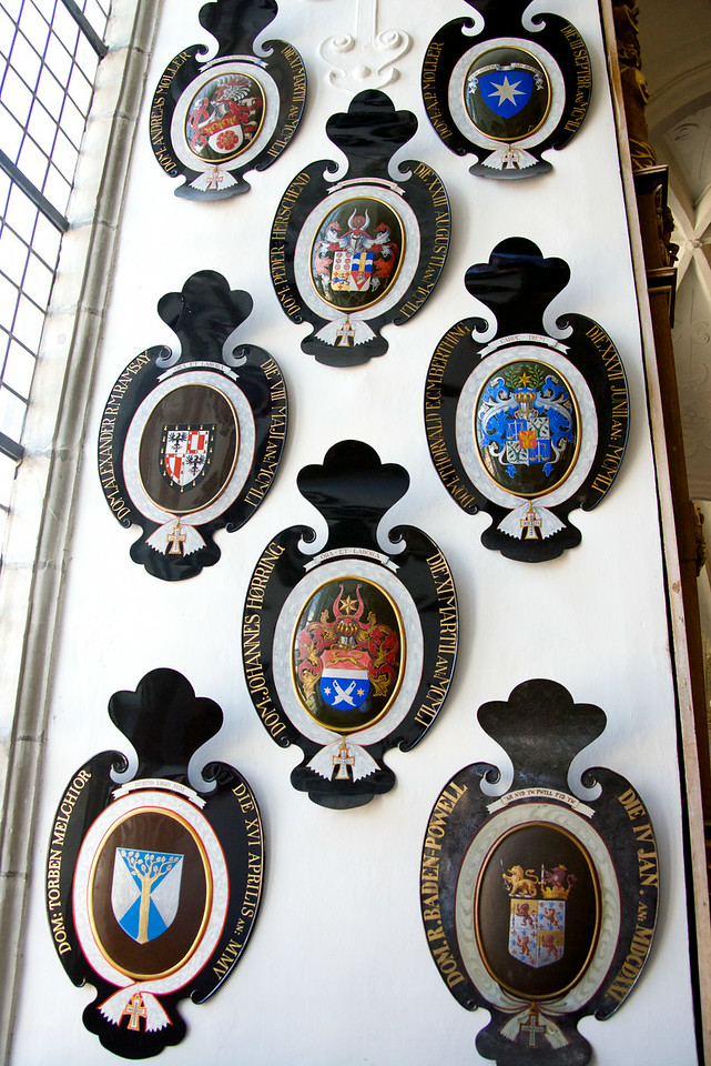 Order of The Cross Shields