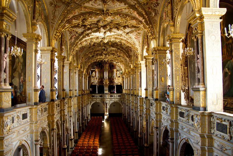 Looking from Altar toward Organ