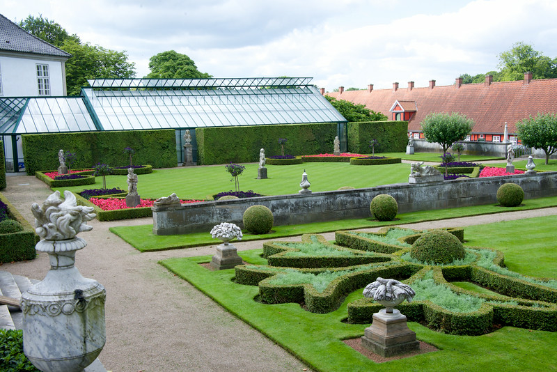 The palace gardens are among Denmark's largest historical gardens, and are Denmark's finest example of a baroque garden