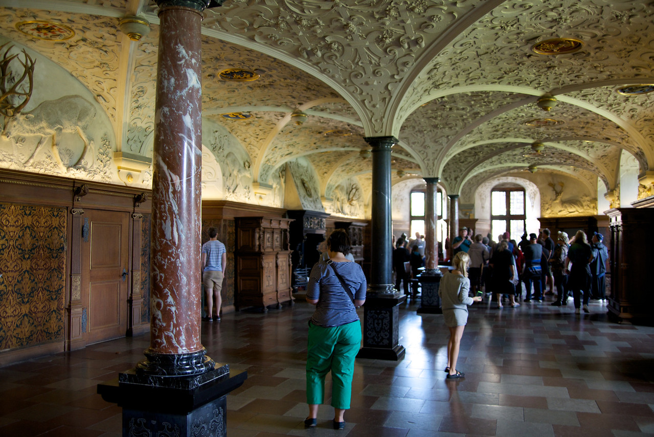 Knights Room or reception hall of the hunting lodge