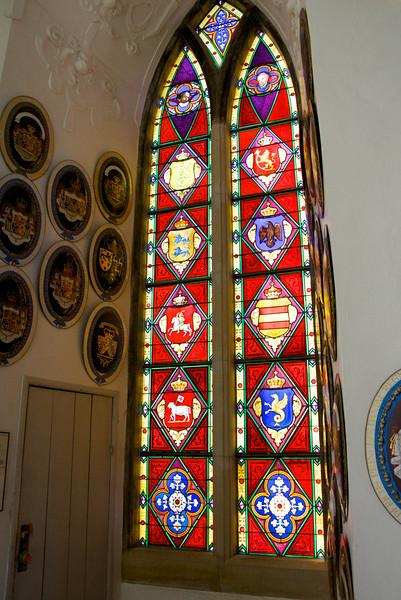 Stain Glass Window in Chapel