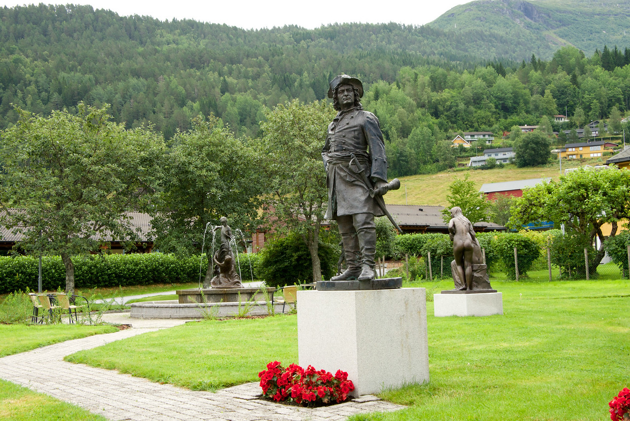 Sculpture garden in Hornindal is important because it is the first museum in Norway dedicated to a single artist (created 1950s).