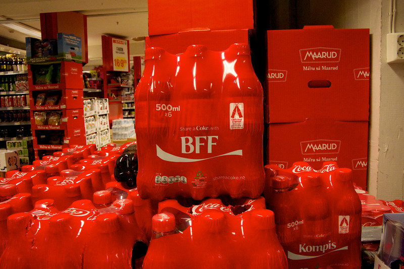 I came all the way to Norway to discover Coke's BFF Advertising Campaign