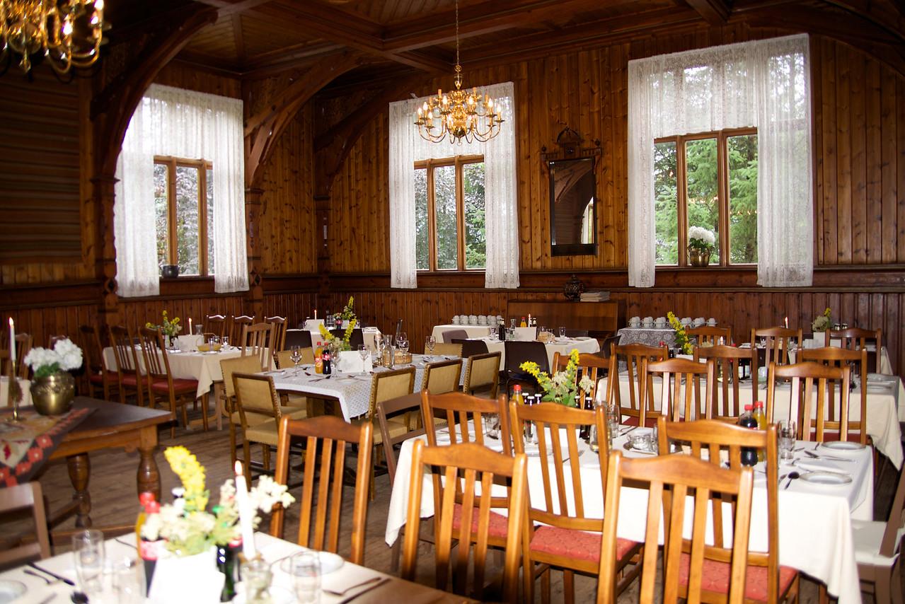 Visnes Hotel Dining Room (lunch)