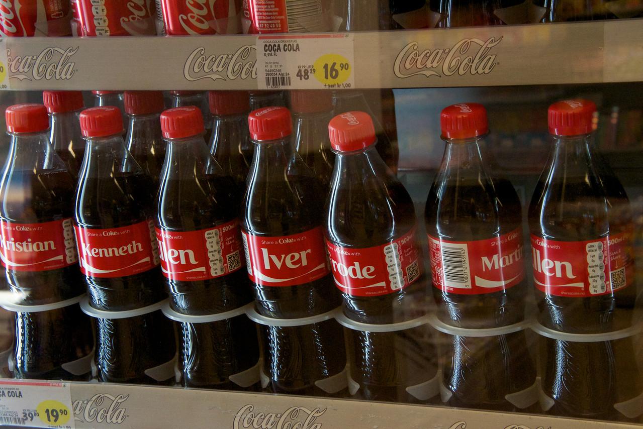 Norwegian Names on the Bottles