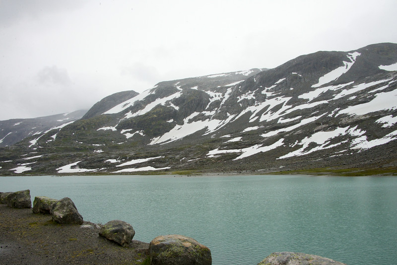 Pond by the ski resort
