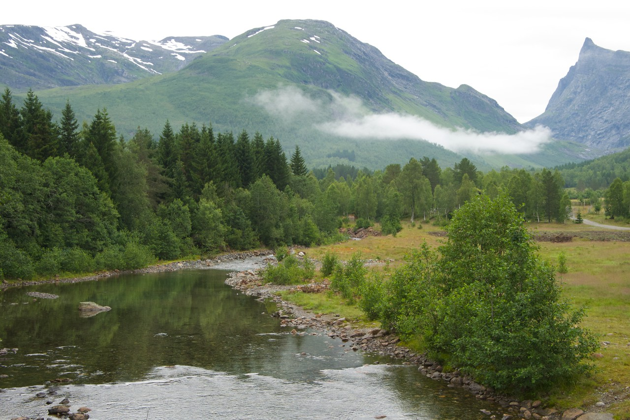View on Way from Hellesylt to Hornindal