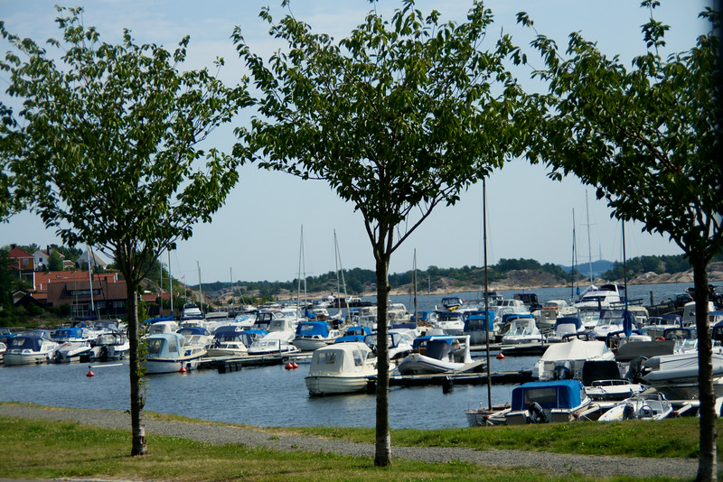 Summer harbor for private boats
