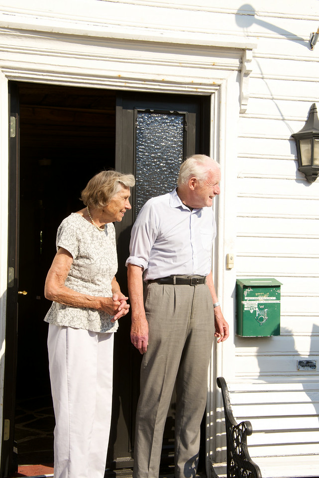 Our guide asked this couple if we could see the interior of their home  (they lived at 59 Gyldenloves Gate)