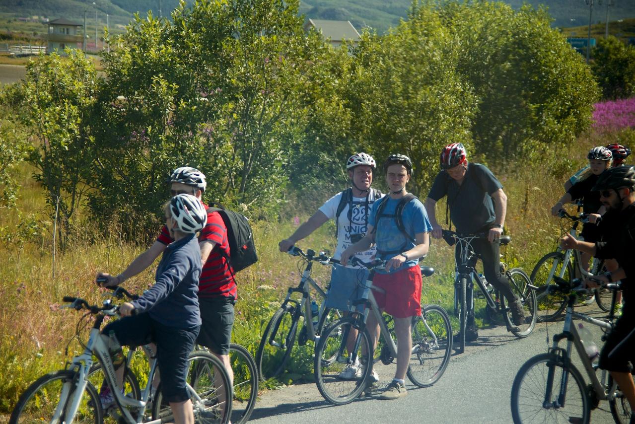 Bike tour    biking is very popular in Norway