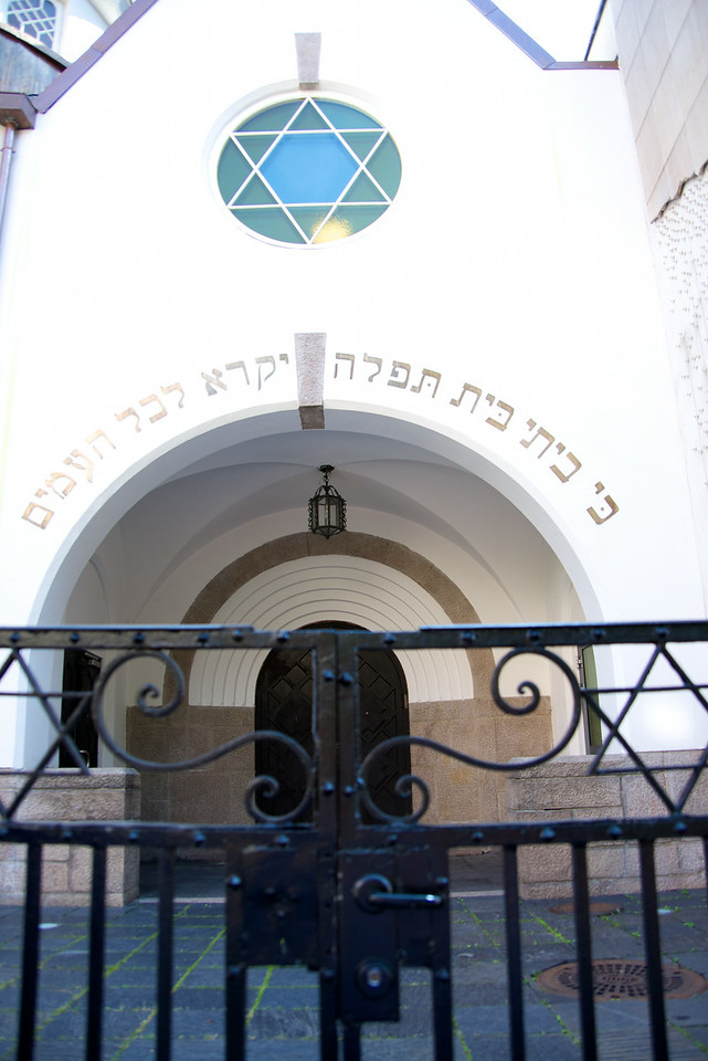 Oslo's only operational synagogue