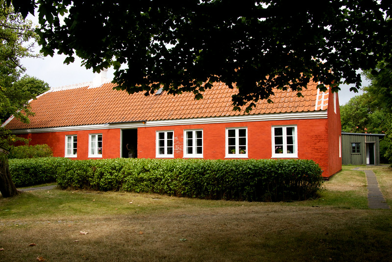 House of Anna and Michael Archer, local Skagen artists