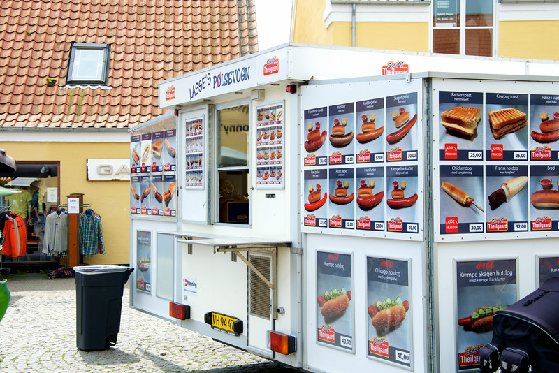 The Danish Hotdog Stand    one way to overcome poverty in Denmark