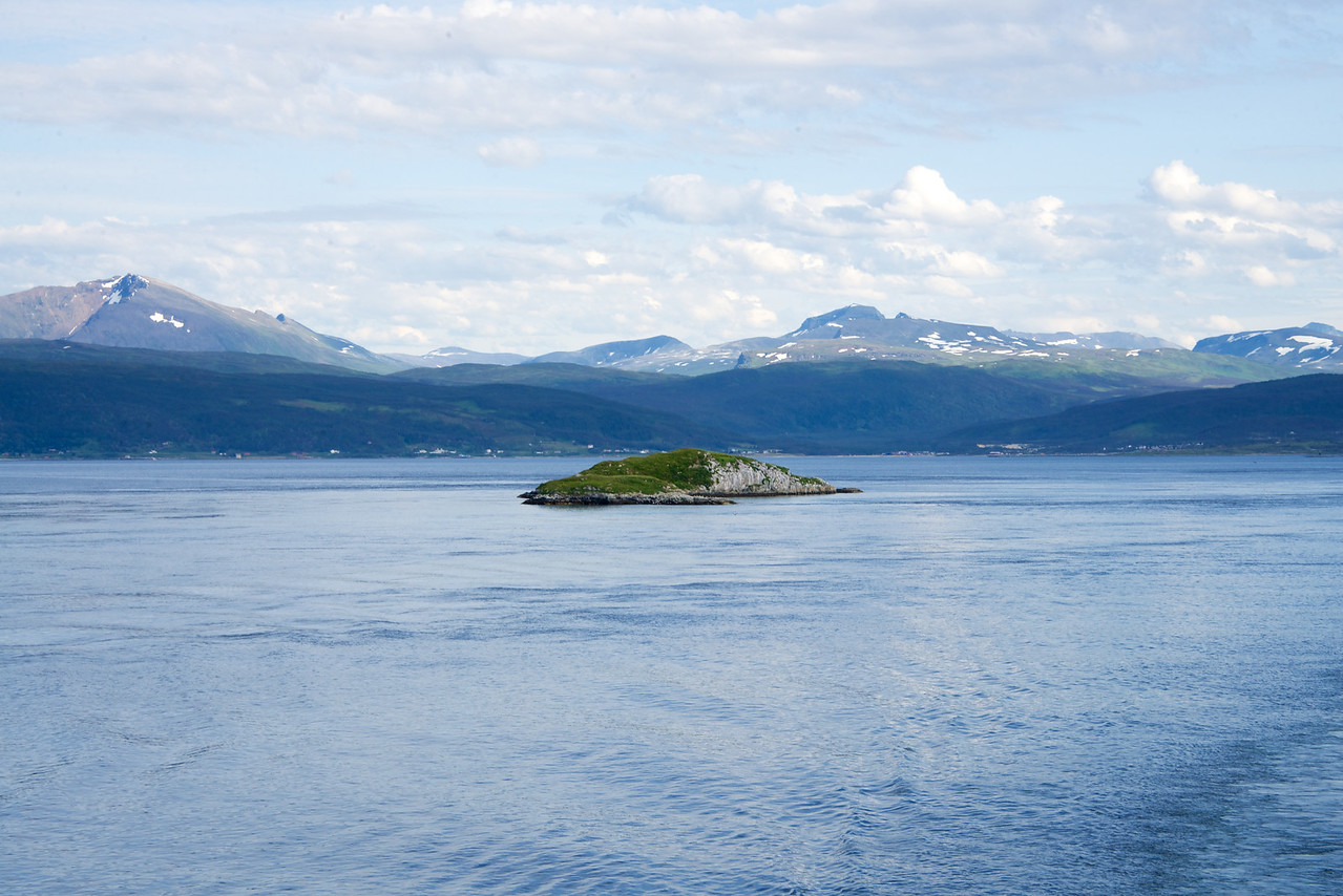 Scenery along the fjord during Sail Out