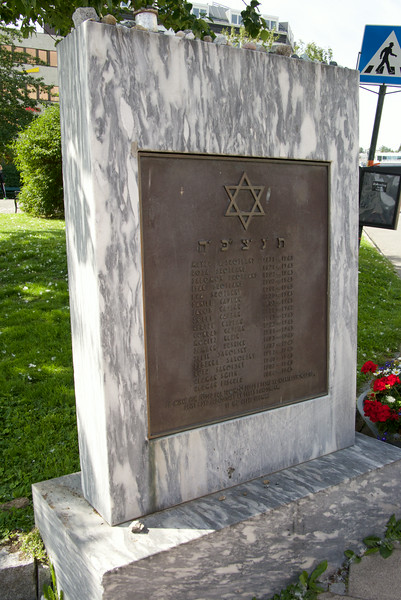 Memorial to Deportation of Jews of Tromso