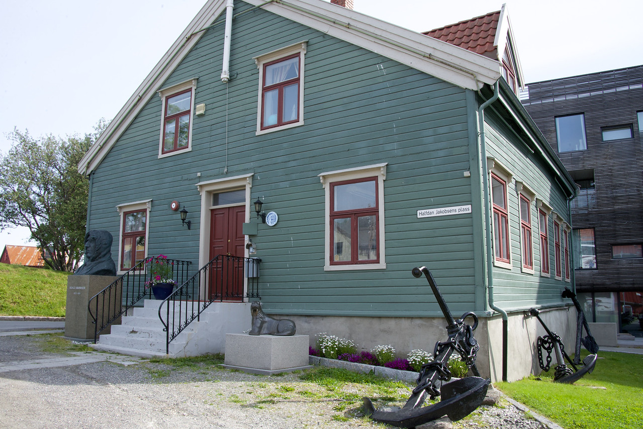 Old Tax Office. In 1794 Tromso was allowed to collect and distribute it's own taxes.