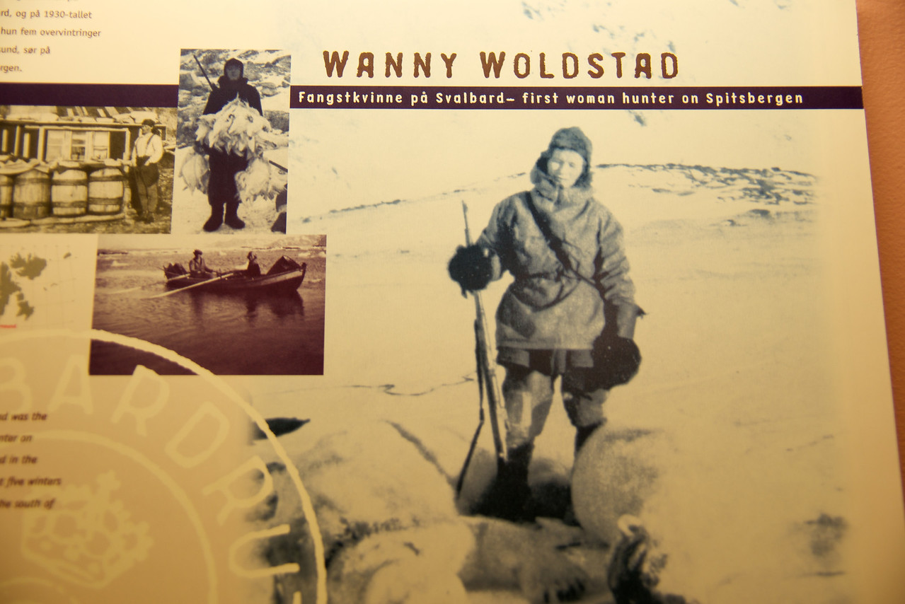Wanny Woldstad, first woman polar bear hunter