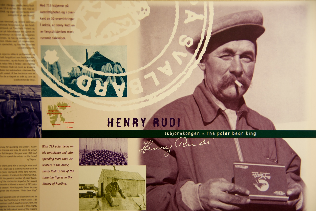 Henry Rudi, the polar bear king, killed 700 polar bears in his lifetime  Amassed huge wealth for his family