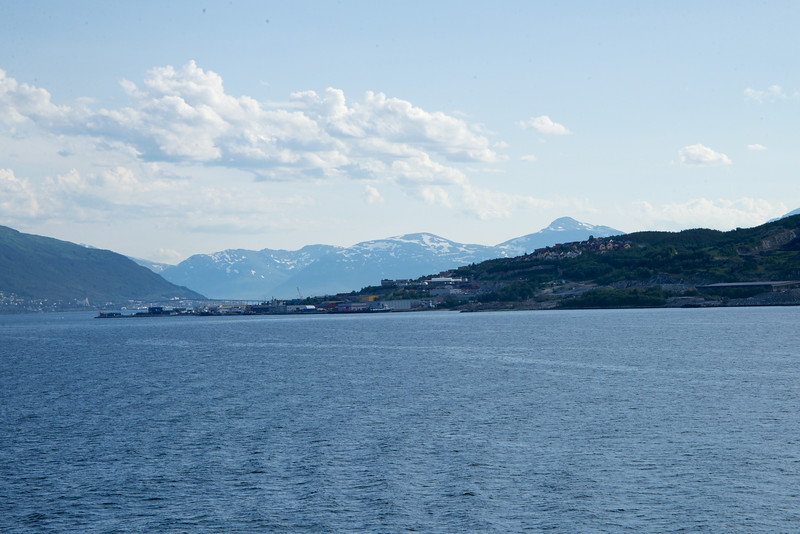 "Tromso ""metro"" area seen during Sail Out"