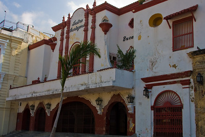 The old Teatro Cartagena is next door to the university.