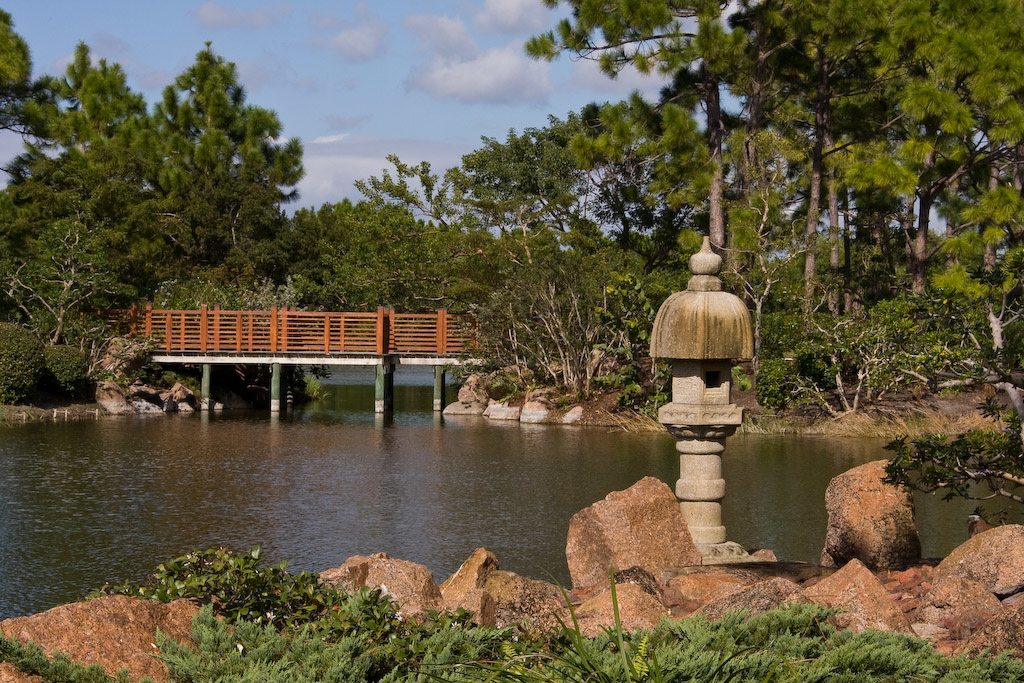 Morikami Museum and Japanese Gardens, Delray Beach, Florida: <br /> View from Rocky Point.