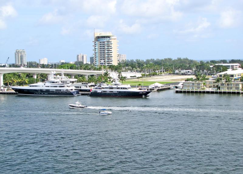 1/13/14 - Leaving Ft. Lauderdale.