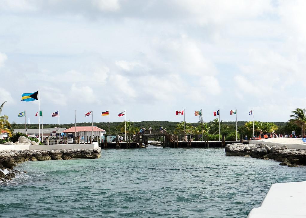1/14/14 - Coming into Princess Cay.