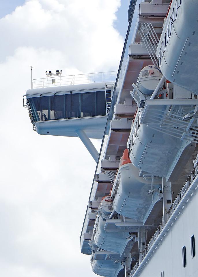 1/14/14 - The bridge on the ship.