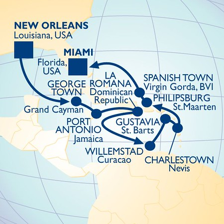 Quest - Oct/Nov 2016 - New Orleans and the Caribbean