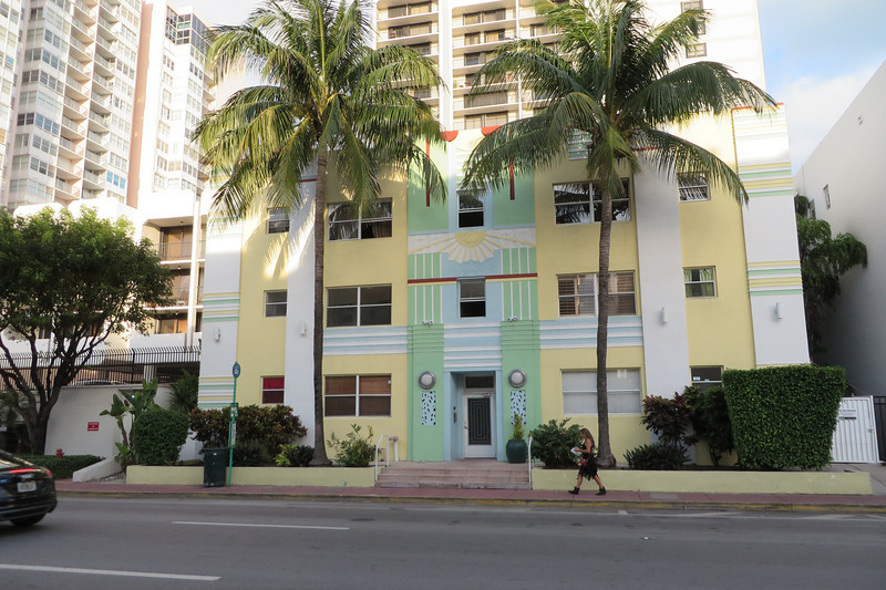 Nice example of South Beach Art Deco.