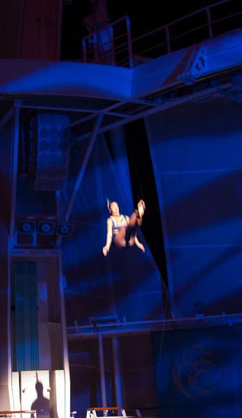 OceanAria Show in the Aqua Theater 10/20/13