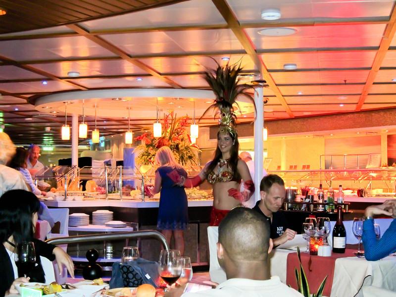Allure of the Seas Samba Grill 02/29/12
