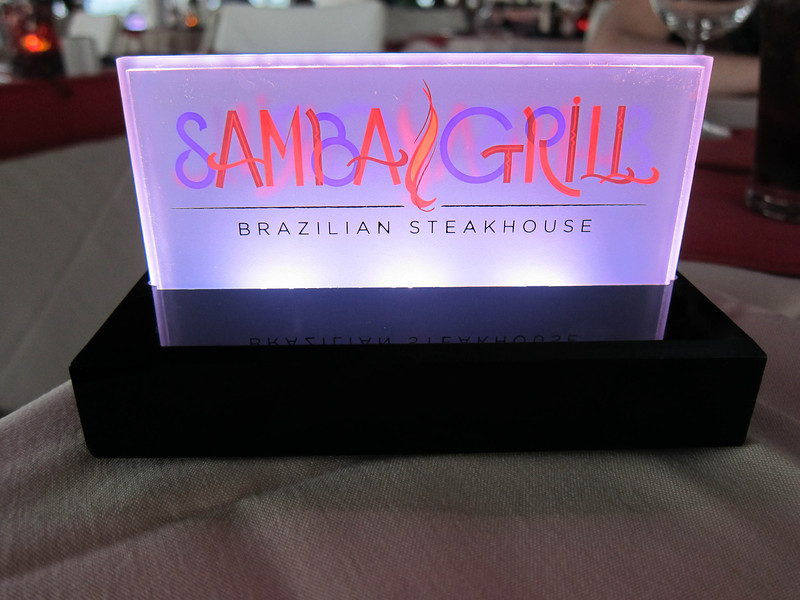 Allure of the Seas 02/29/12 Samba Grill