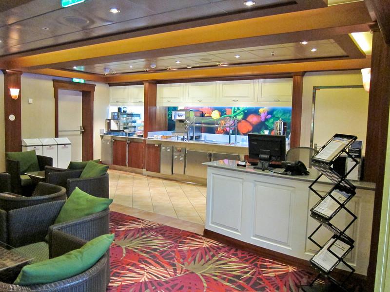 Allure of the Seas 02/29/12, Diamond+ Lounge