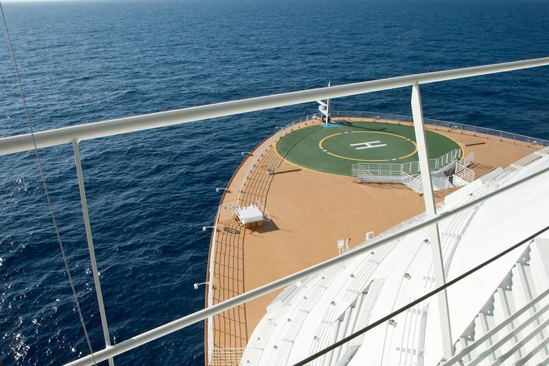 Allure of the Seas Diamond Plus Bridge Tour 03/01/12
