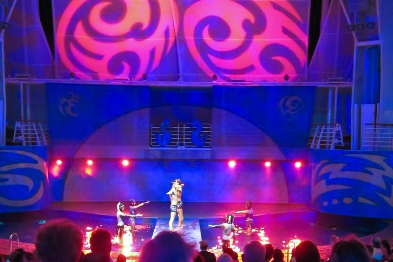 Allure of the Seas 02/28/12, Ocean Aria in the Aqua Theater