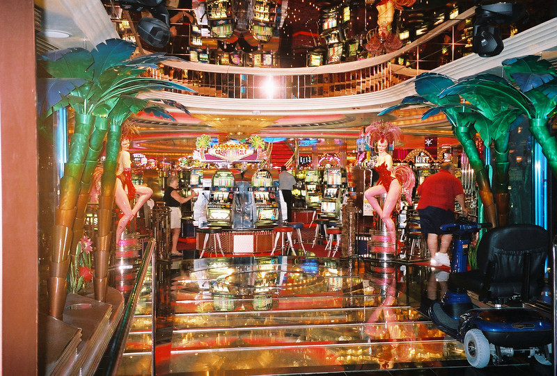 Explorer of the Seas 7 Day Cruise to the Eastern Caribbean. Cruises on 02/23/02 & 09/22/01.<br /> The Casino on Explorer