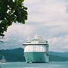 Explorer of the Seas 7 Day Cruise to the Eastern Caribbean. Cruises on 02/23/02 & 09/22/01.<br /> Explorer at Labadee Haiti.