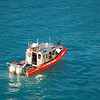 04/08/09 US COast Guard on Patrol while we are docked in St Maarten