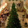 Christmas Tree on the Promenade on Mariner of the Seas. Christmas 2006