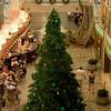 Christmas Tree on the Promenade on Mariner of the Seas. Christmas 2006
