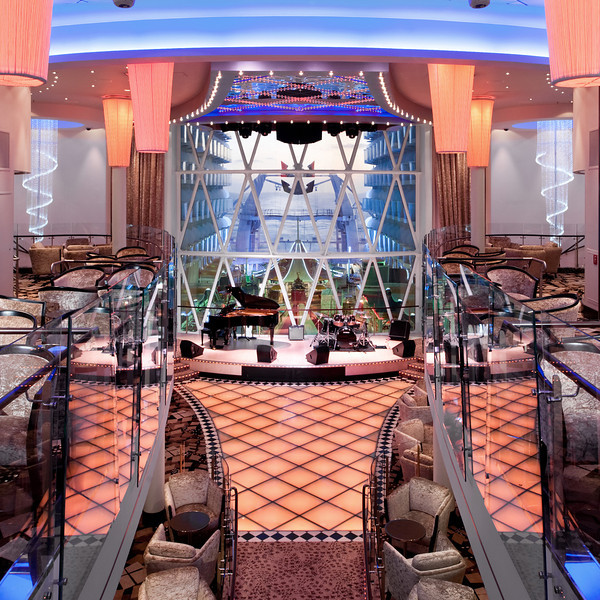 Dazzles - Deck 10 Midship <br /> Oasis of the Seas - Royal Caribbean Cruise Line